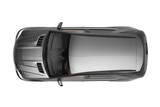 Black SUV top view