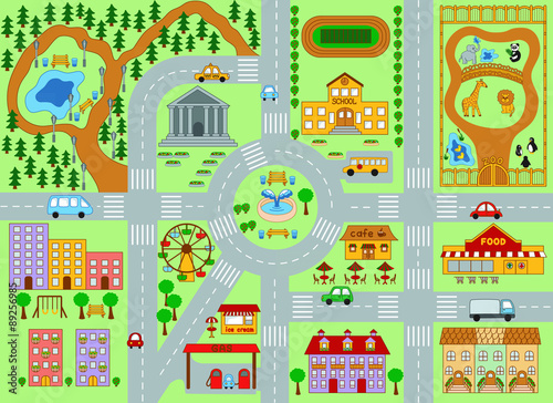 city map for kids buy photos ap images detailview