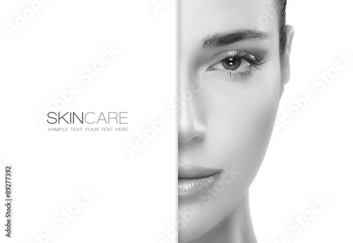 Beauty and Skincare concept. Template Design © Casther