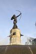 Huntress Diana Fountain (Fuente de la Diana Cazadora) in Mexico DF, Mexico