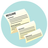 Resume Document Icon