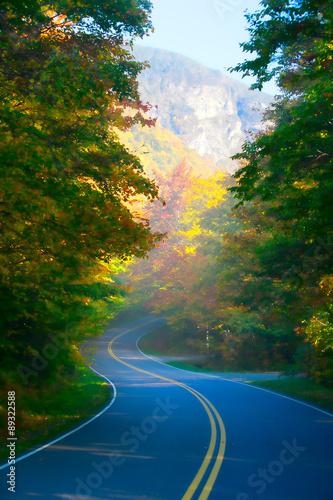 kreta-droga-przez-jesienne-drzewa