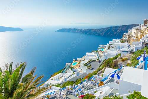 Zdjęcia na płótnie, fototapety na wymiar, obrazy na ścianę : Landscape Santorini Island Greece