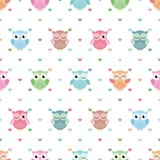Lovely Owl Pattern