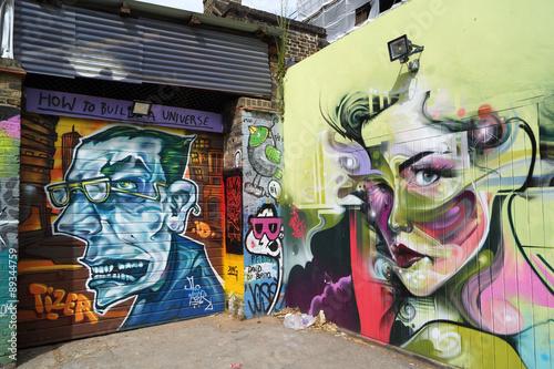 Street Art Londra Plakat