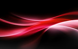 Fototapety abstract red light waves background