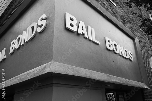 Poster Bail Bond office