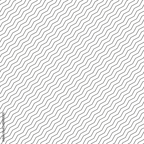 Seamless pattern with linear diagonal texture grey colored - 89438303
