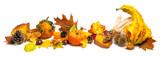 Fototapety Herbst Dekoration Arrangement