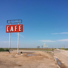 Cafe on the route 66