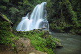 Pha dok siew waterfall in Chiang Mai Thailand