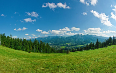 Panorama of Tatras