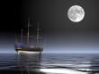 veliero di notte - 89644121