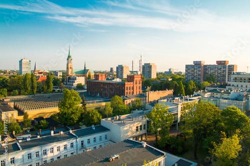 Zdjęcia na płótnie, fototapety na wymiar, obrazy na ścianę : City of Lodz, Poland