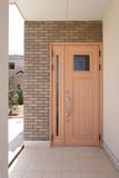 アンテーク風 玄関ドア アルミ製