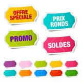 Étiquettes soldes et promotion - 89842991