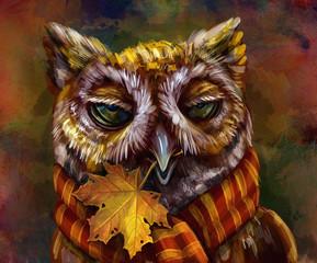Осенняя сова