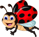 funny ladybugs cartoon for you disign