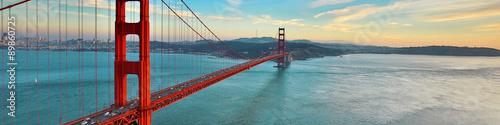 Obraz na Plexi Golden Gate Bridge, San Francisco California