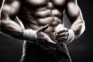 спортивные руки