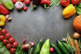 Fototapety fresh farm vegetables
