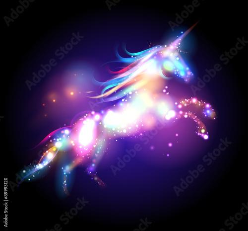 Star magic unicorn logo.