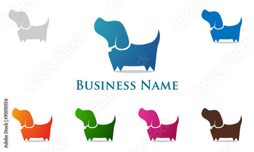dog, pet, logo,
