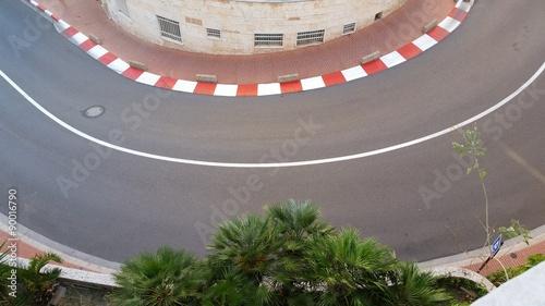 Fotobehang F1 Virage F1 à Monaco