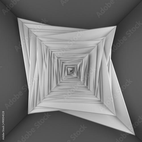 blank frames on white wall © dymentyd