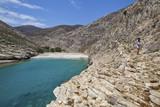 Folegandros, plaża Livadaki, Grecja