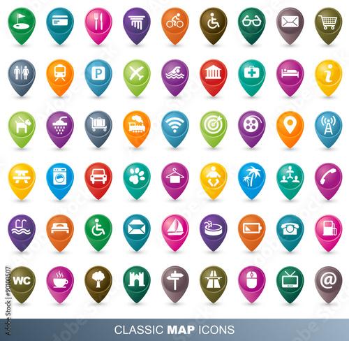 classic map ic nes full collection fichier vectoriel libre de droits sur la banque d 39 images. Black Bedroom Furniture Sets. Home Design Ideas