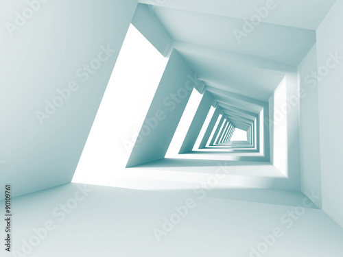 Abstract Architecture Futuristic Modern Background