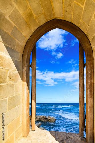 Plakat door open sea