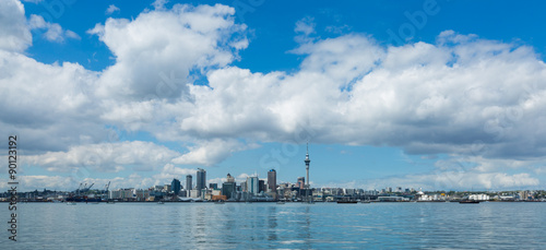 Poster Oceanië Auckland cityscape, North Island, New Zealand