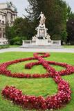 Vienna, Mozart memorial Statue