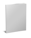 Fototapety Blank white book isolated