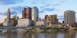 Fototapety Downtown Columbus Ohio Skyline