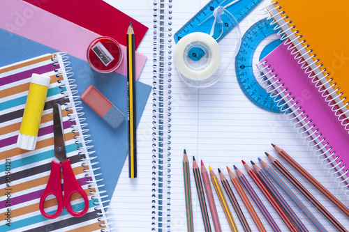 Fournitures Scolaire Poster