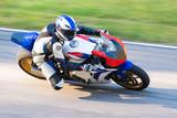 Fototapety Motorbike racing