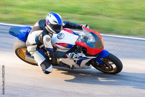 Motorbike racing Poster