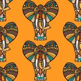 African seamless pattern