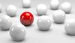 Red Balls / White Balls / Concept