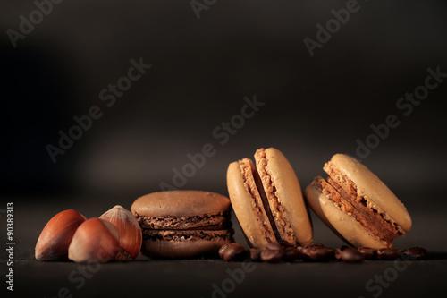 Staande foto Macarons macaron