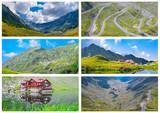 Transfagarasan mountain road,Balea Lake  Romanian Carpathians