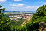 Blick auf Thale im Harz