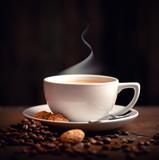 Kaffeetasse frisch gebrüht