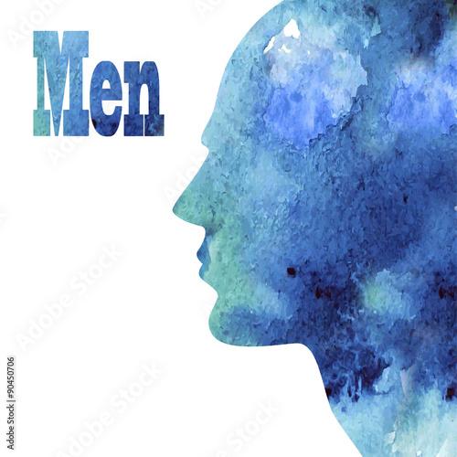 male profile - 90450706