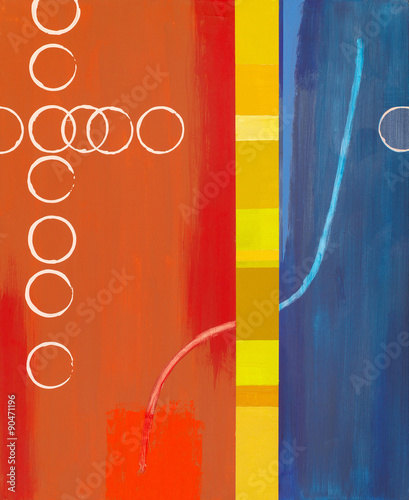 an abstract painting - 90471196