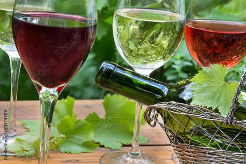 Wein Poster