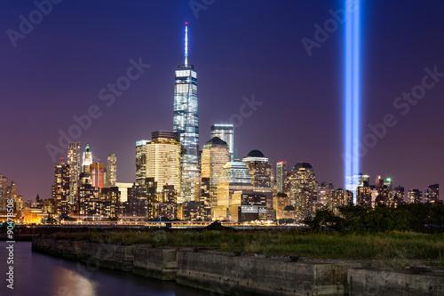 Poster New York City Tribute in Light